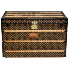 "Early 20th Century Exquisite ""Malle Haute"" Louis Vuitton Trunk"