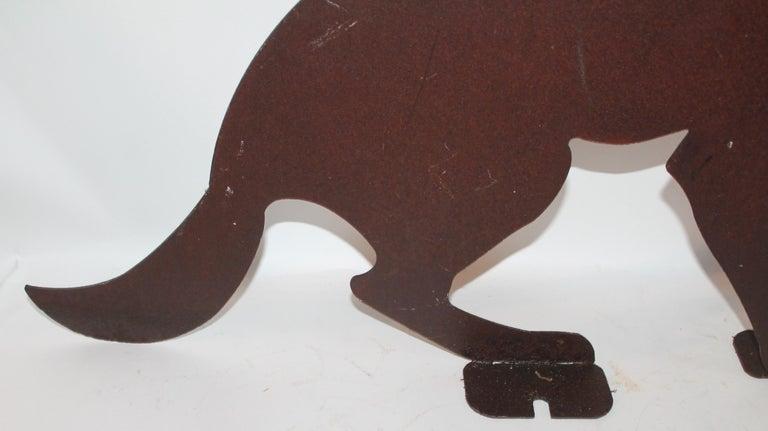 American Early 20th Century Folk Art Dog For Sale