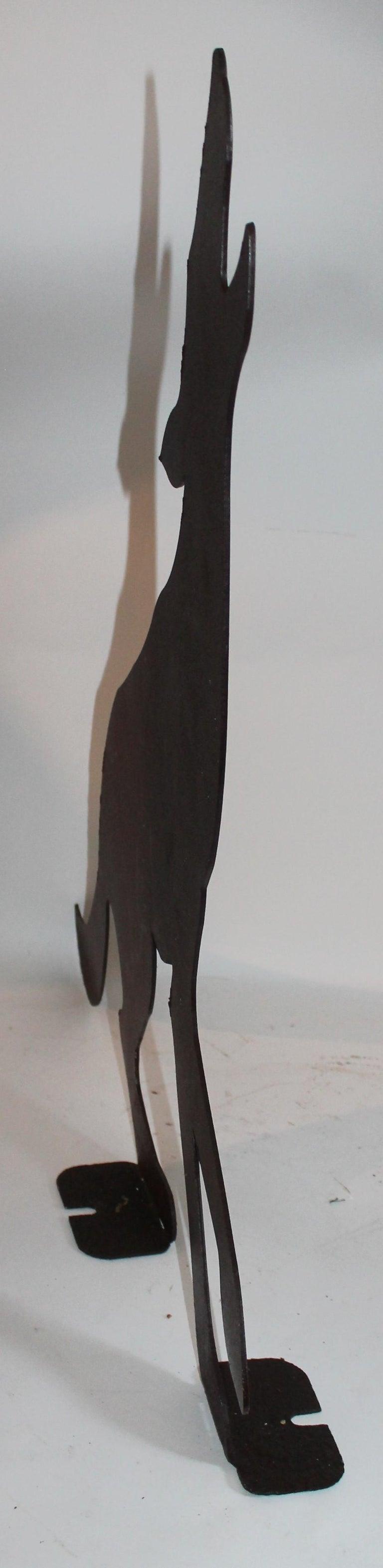 Sheet Metal Early 20th Century Folk Art Dog For Sale