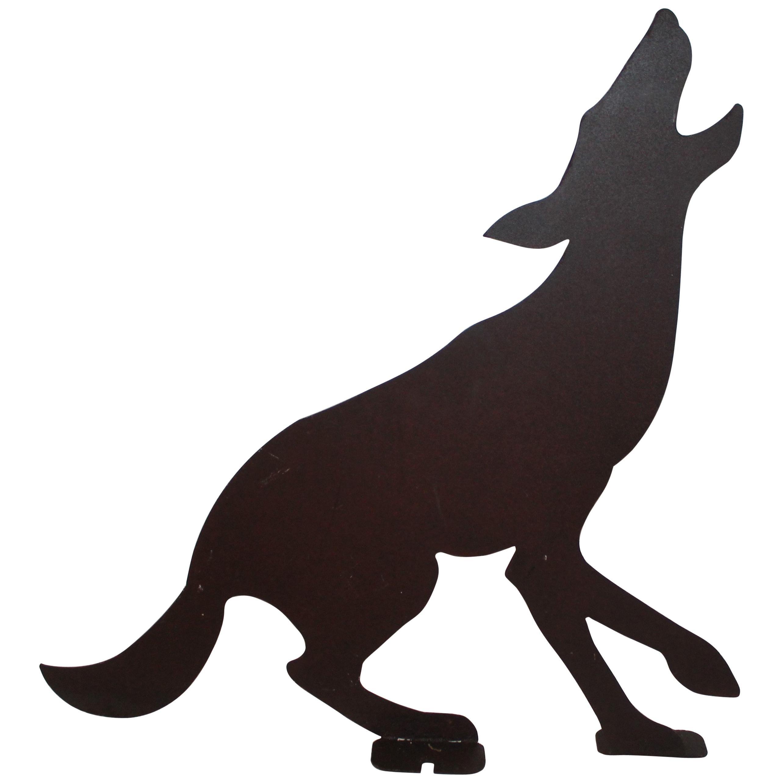 Early 20th Century Folk Art Dog