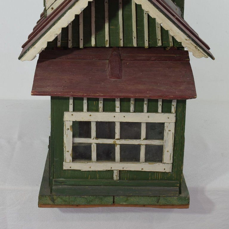 Early 20th Century Folk Art Middle European Model of a House For Sale 6