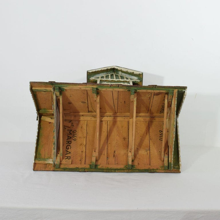 Early 20th Century Folk Art Middle European Model of a House For Sale 14