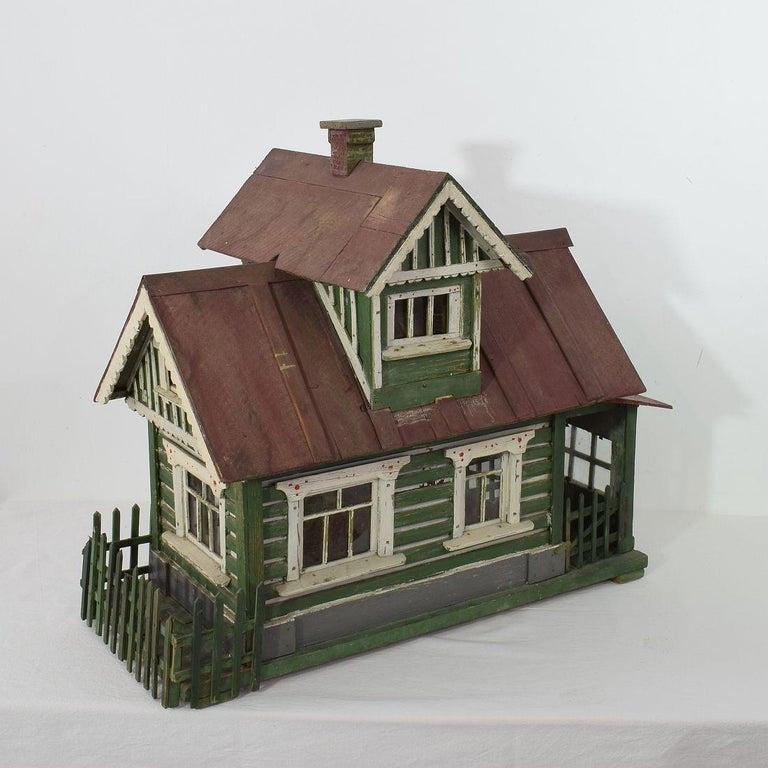 Czech Early 20th Century Folk Art Middle European Model of a House For Sale