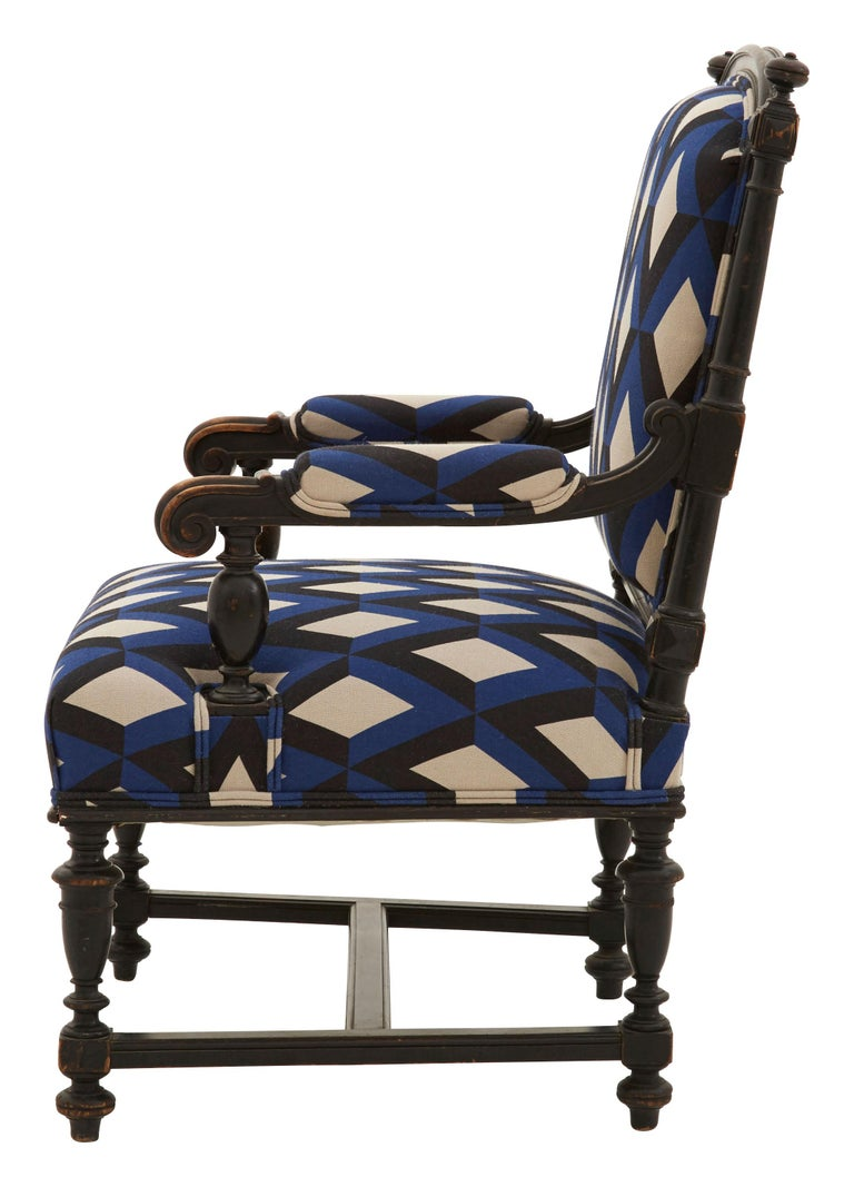 Louis XVI Early 20th Century French Armchair For Sale