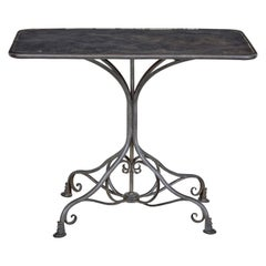 Early 20th Century French Arras Iron Bistro Table