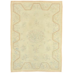 Early 20th Century French Aubusson Rug
