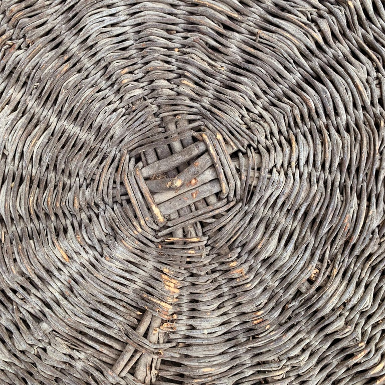 Willow Early 20th Century French Basket For Sale