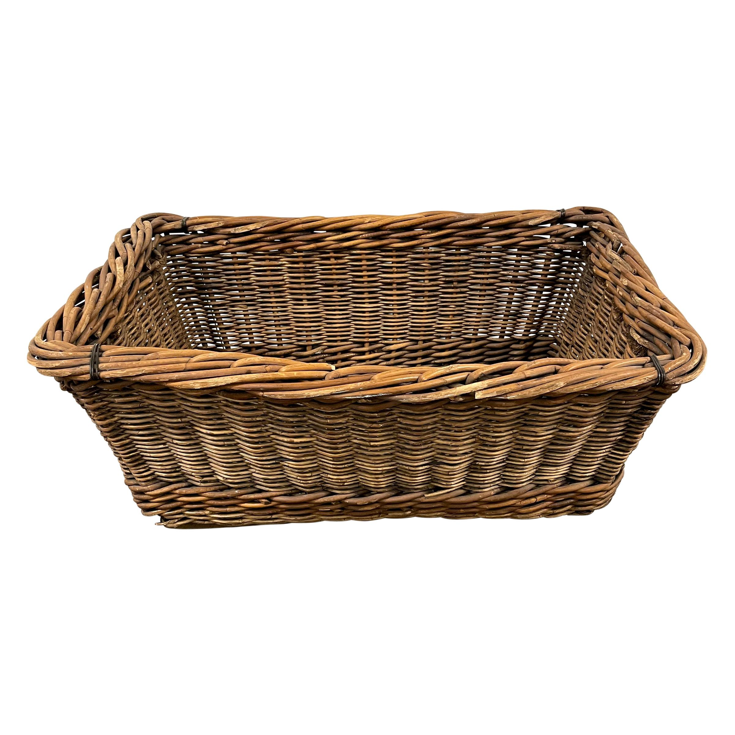 Early 20th Century French Basket