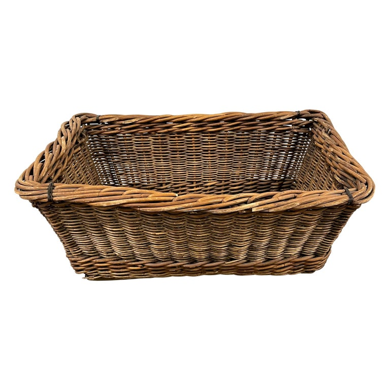 Early 20th Century French Basket For Sale
