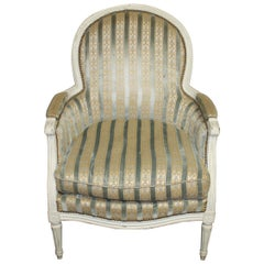 Early 20th Century French Bergère Chair