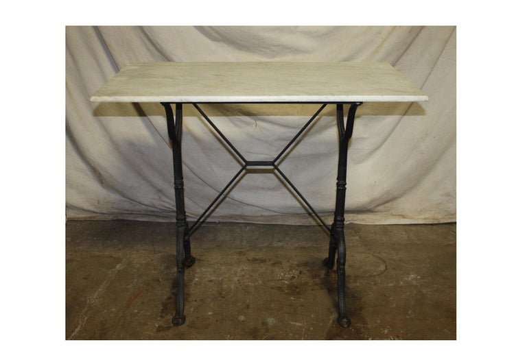 Early 20th Century French Bistro Table In Good Condition For Sale In Atlanta, GA