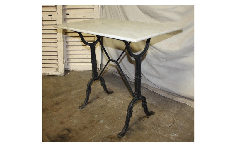 Early 20th Century French Bistro Table For Sale 1