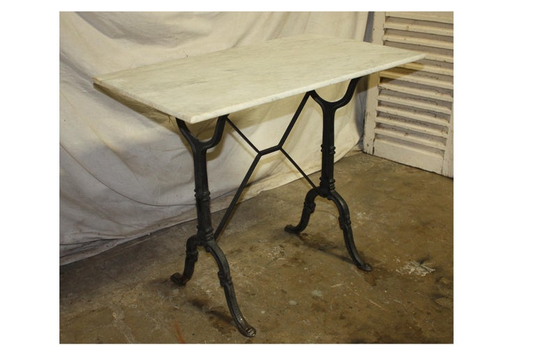 Early 20th Century French Bistro Table For Sale 3
