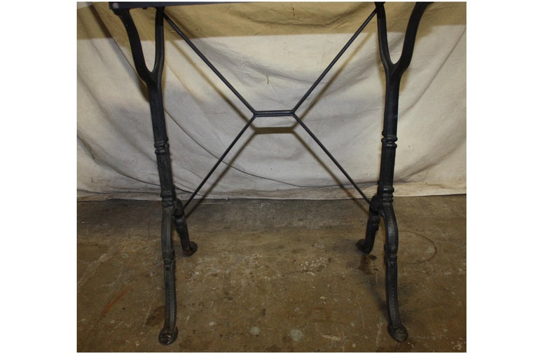 Early 20th Century French Bistro Table For Sale 6