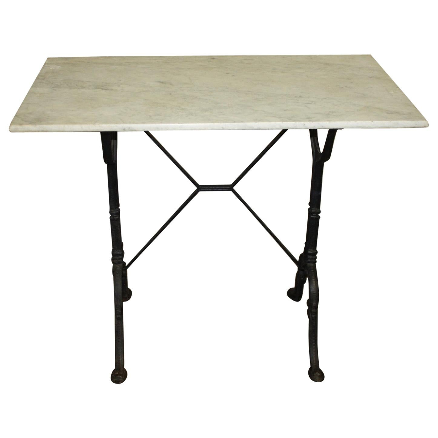 Early 20th Century French Bistro Table