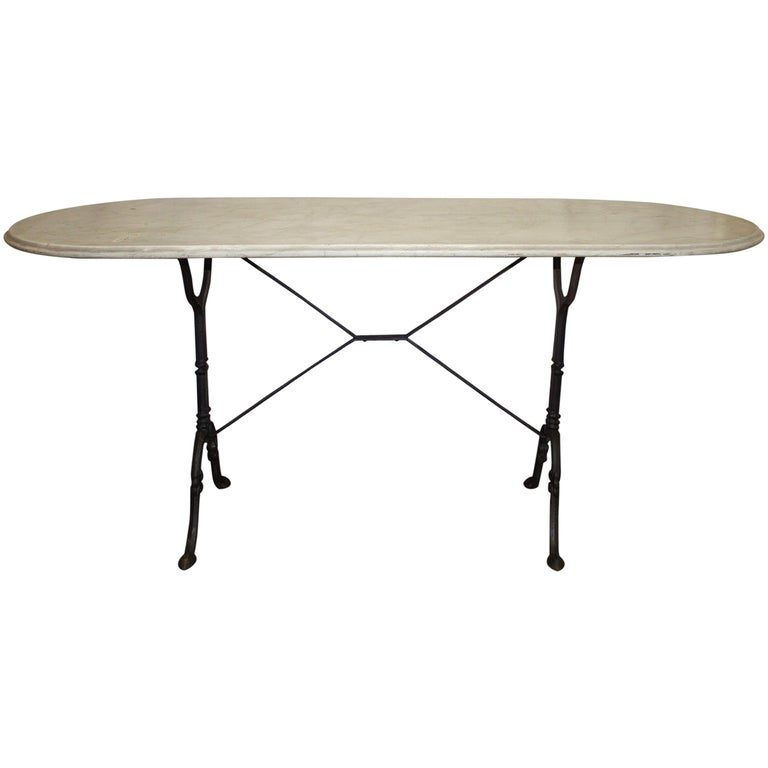 Early 20th Century French Bistro Table For Sale