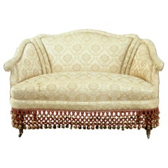 Early 20th Century French Boudoire Small Bedroom Sofa
