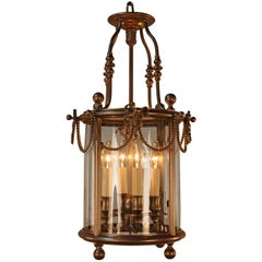 Early 20th Century French Bronze Lantern