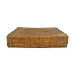 Early 20th Century French Chopping Block