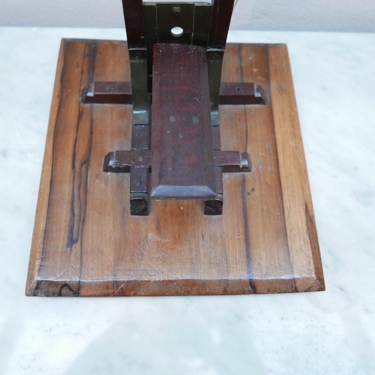 Early 20th century French Cigar Cutter Model of a Guillotine For Sale 6