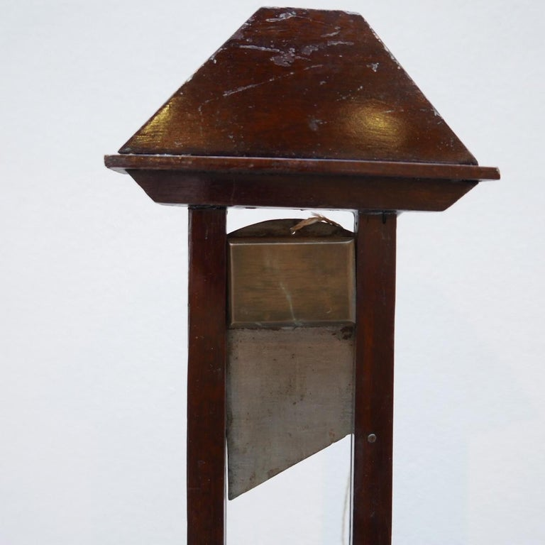 Early 20th century French Cigar Cutter Model of a Guillotine For Sale 1