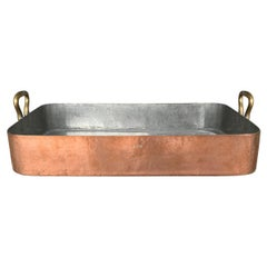 Early 20th Century French Copper Roaster