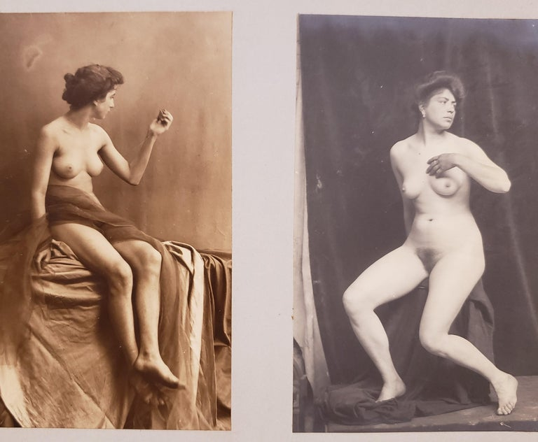 Early 20th Century French Erotica Nude Art Photographs For Sale 7