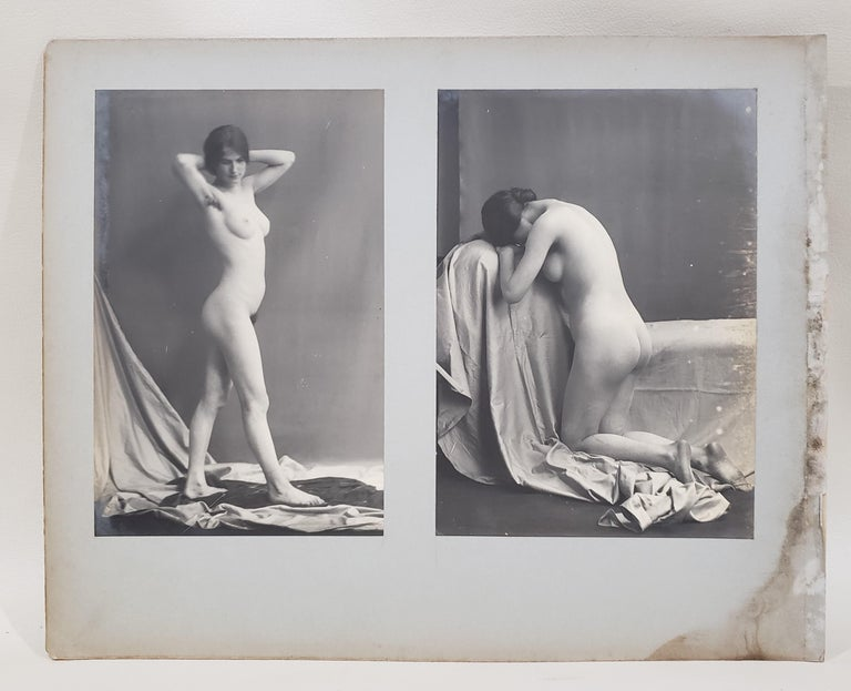 Early 20th Century French Erotica Nude Art Photographs For Sale 9