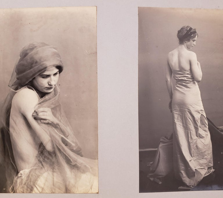 Paper Early 20th Century French Erotica Nude Art Photographs For Sale