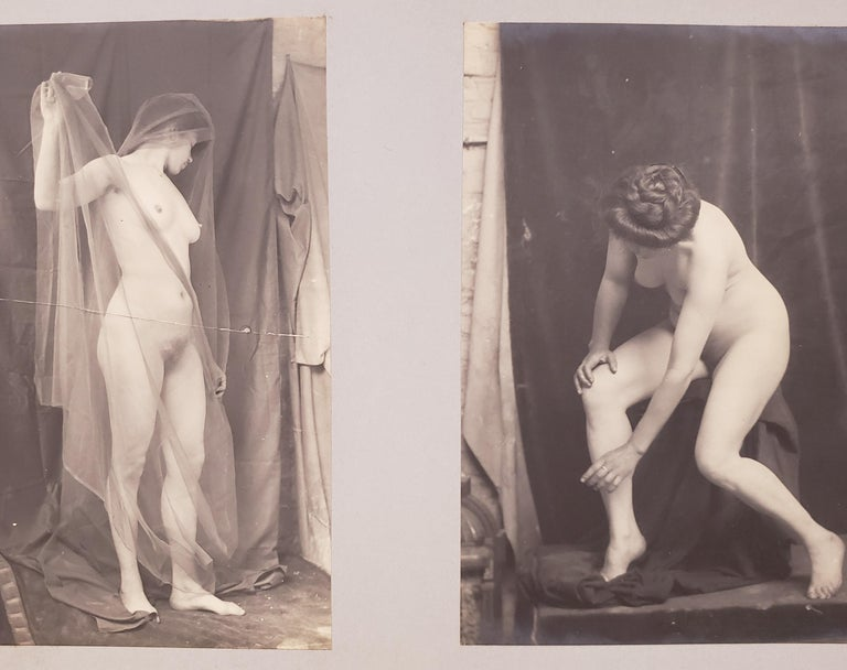 Early 20th Century French Erotica Nude Art Photographs For Sale 1