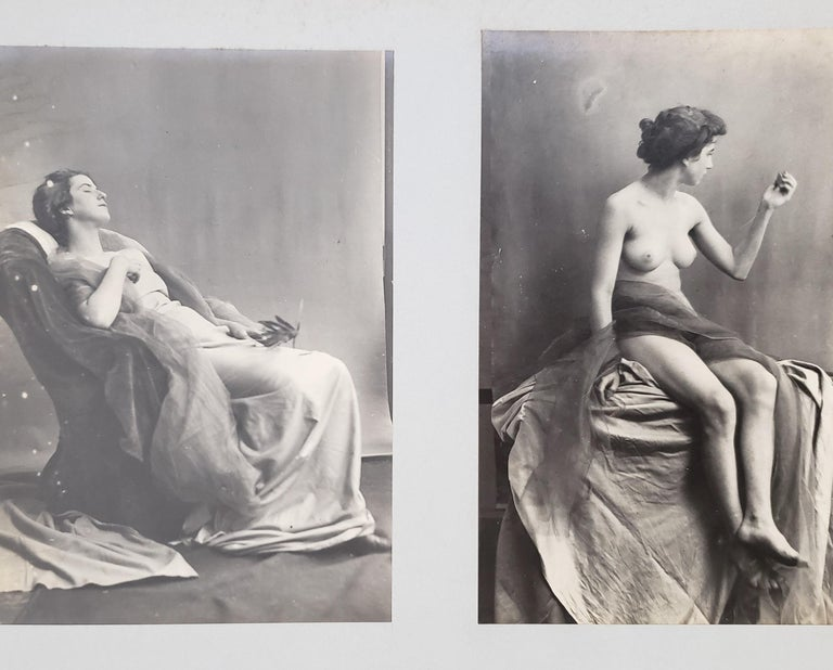 Early 20th Century French Erotica Nude Art Photographs For Sale 2