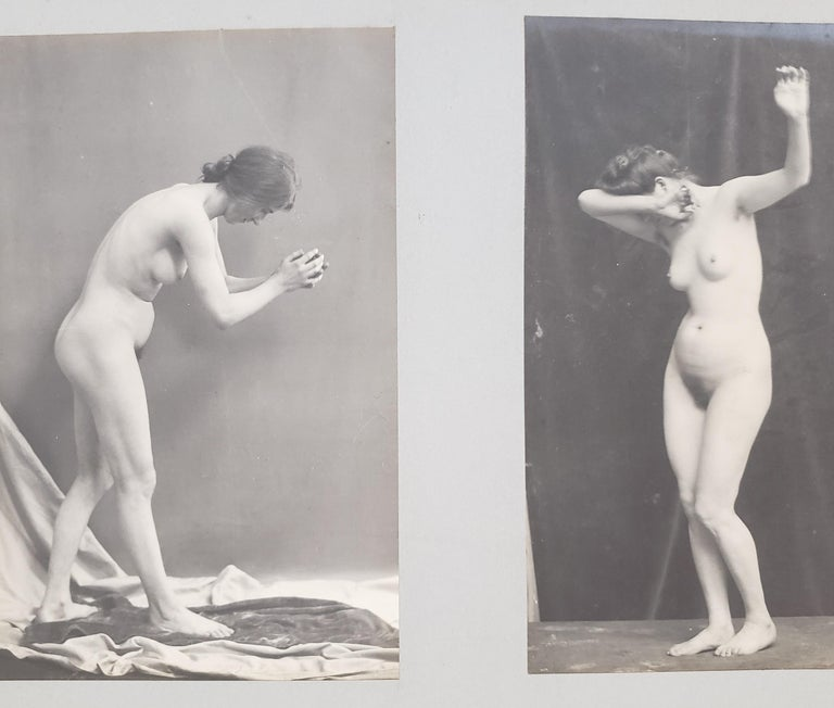 Early 20th Century French Erotica Nude Art Photographs For Sale 3