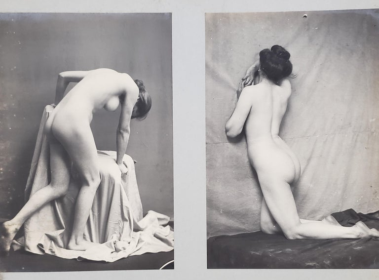 Early 20th Century French Erotica Nude Art Photographs For Sale 4