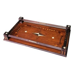 Early 20th Century French Inlaid Serving Tray