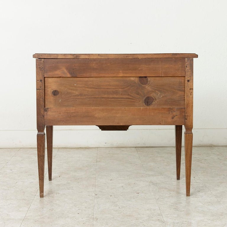 Early 20th Century French Louis XVI Hand-Carved Ash Commode, Chest or Nightstand For Sale 5