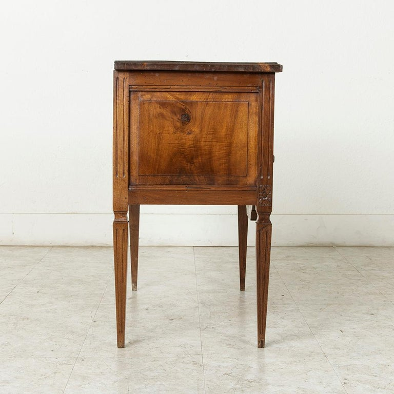 Early 20th Century French Louis XVI Hand-Carved Ash Commode, Chest or Nightstand For Sale 6