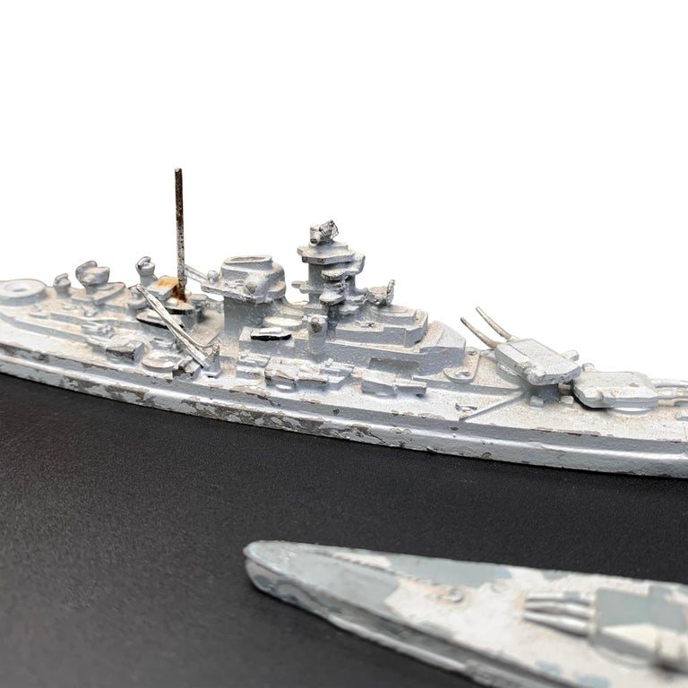 Early 20th Century French Naval Battleship Training Models For Sale 6
