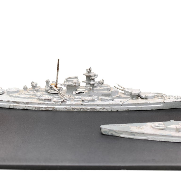 Early 20th Century French Naval Battleship Training Models For Sale 1