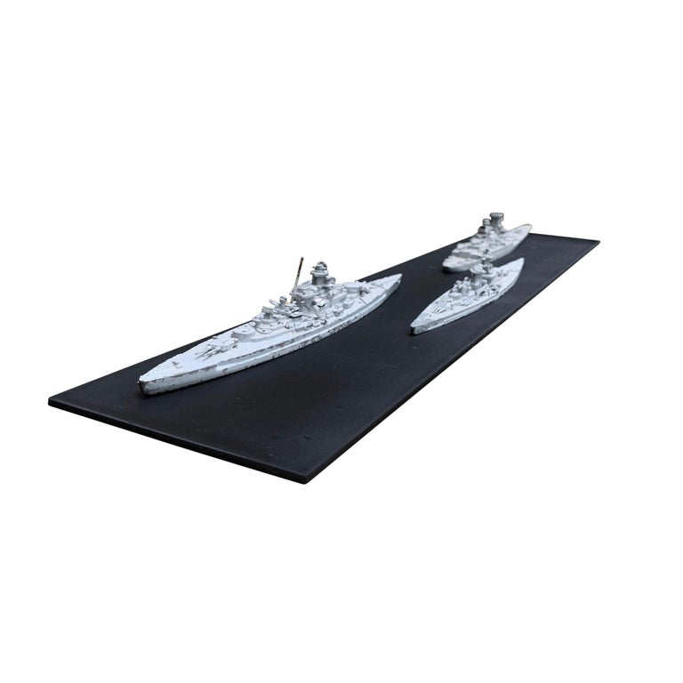Early 20th Century French Naval Battleship Training Models For Sale 2