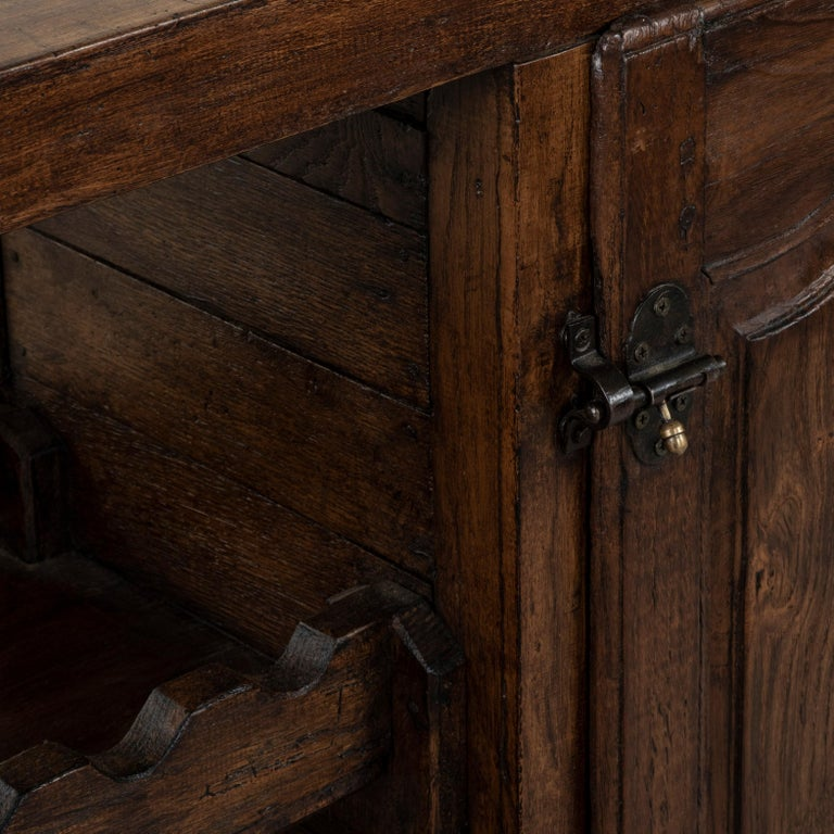 Early 20th Century French Oak Workbench, Console, Sofa Table, Dry Bar 4