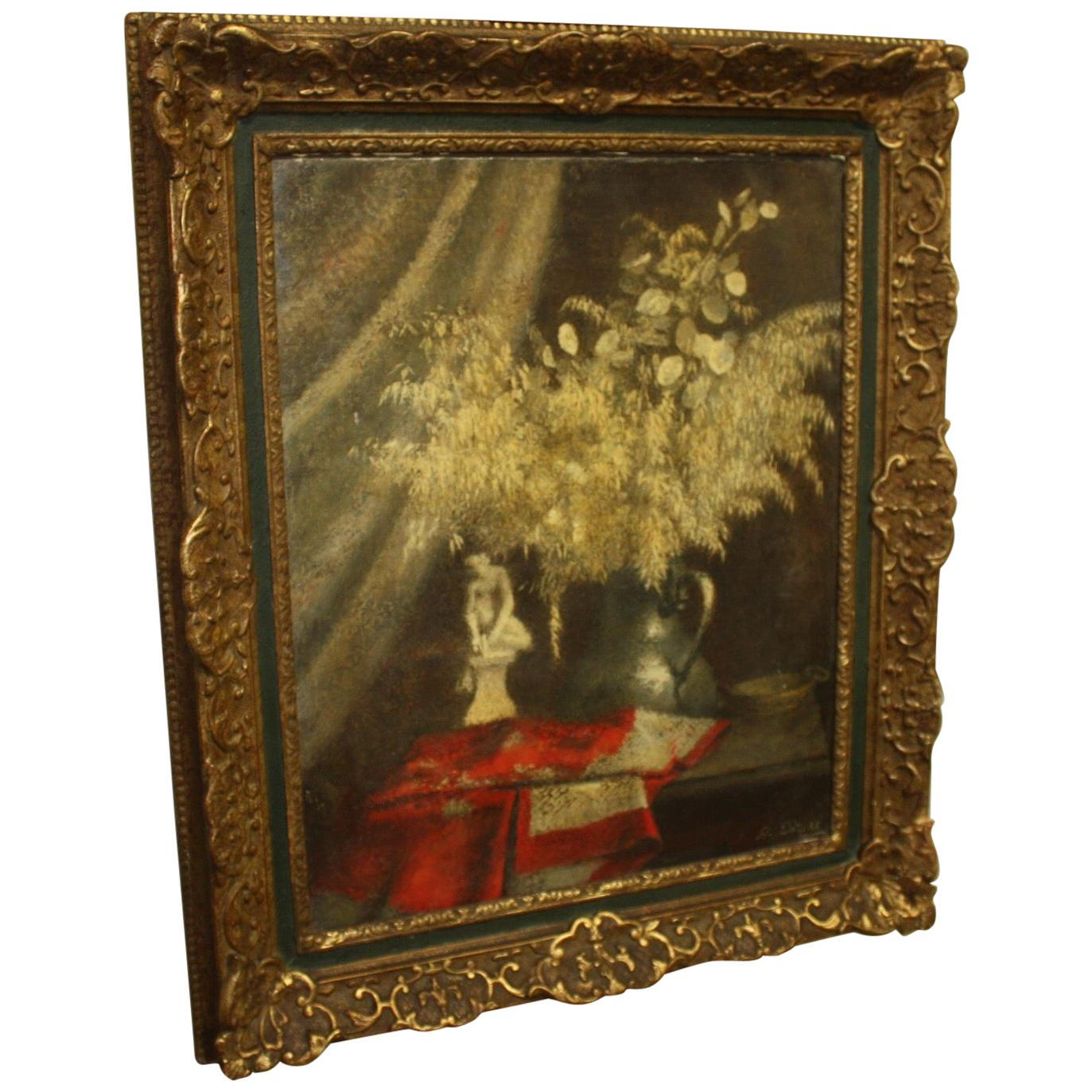 Early 20th Century French Oil Painting