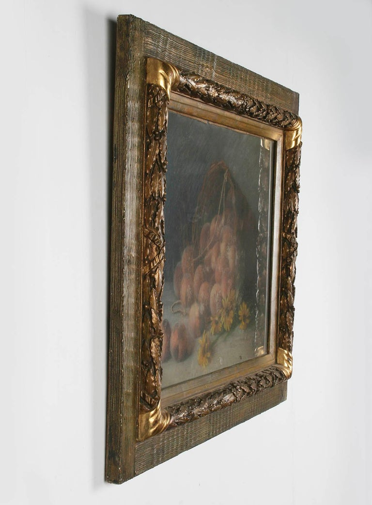 Early 20th Century French Painting Pastel-Color on Paper by H. Bossy, 1905 For Sale 5