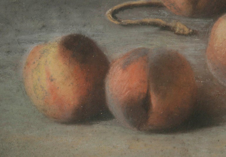 Early 20th Century French Painting Pastel-Color on Paper by H. Bossy, 1905 In Good Condition For Sale In Casteren, Noord-Brabant