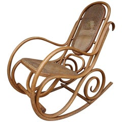 Early 20th Century French Rocking Chair