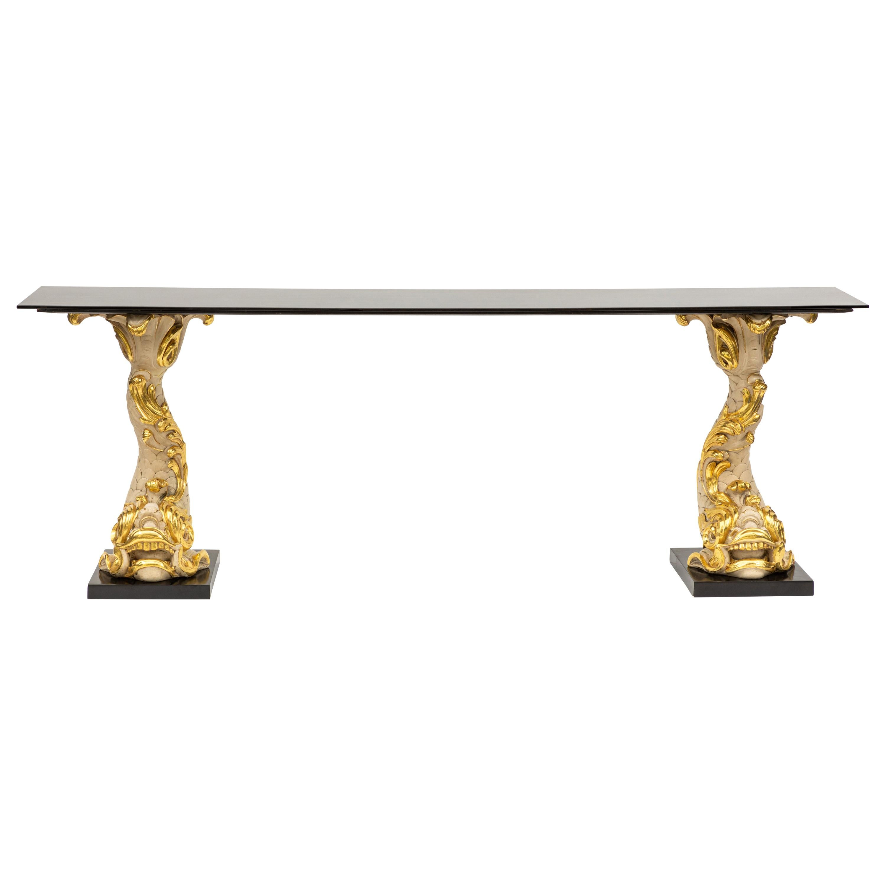 Early 20th Century French Serge Roche Console