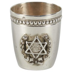 Early 20th Century French Silver Schnapps Cup