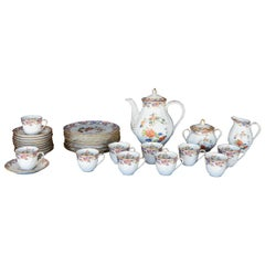 Early 20th Century French Tea Set by Bernardaud Limoges