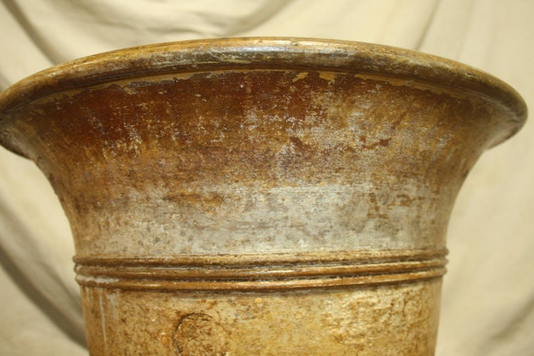 Early 20th Century French Terracotta Planter For Sale 3