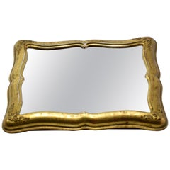 Early 20th Century French Vintage Gilded Wall Mirror