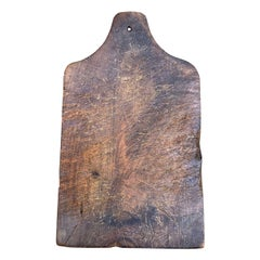 Early 20th Century French Walnut Cutting Board